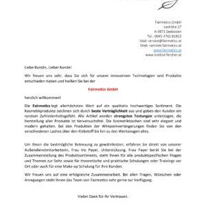 Willkommensbrief allgemein.docx Fairmetics